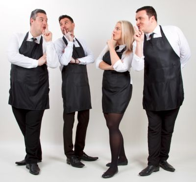 Singing Waiters - The Undercover Waiters