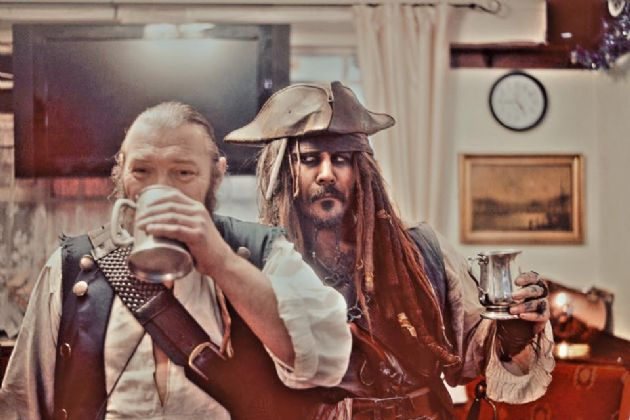 Gallery: Captain Jack and Shipmate Gibbs