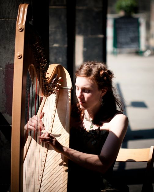 Gallery: Tamsin Harpist