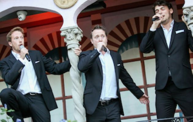 Gallery: The Opera Four Surprise Singers